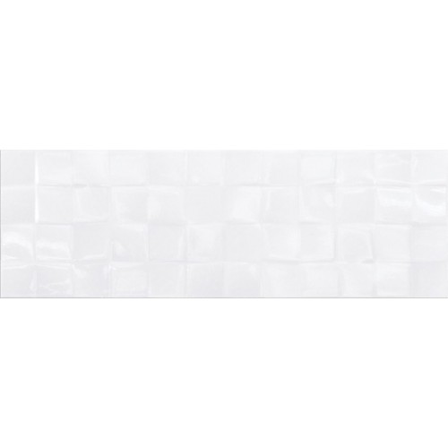 Плитка SIMPLE ART WHITE GLOSSY STRUCTURE CUBES 20x60